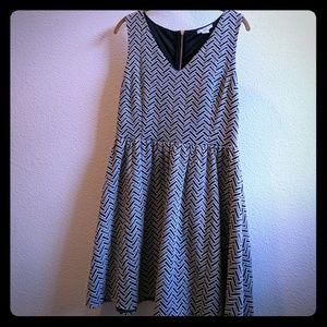 Bar III Chevron Dress